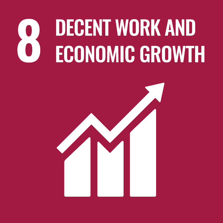 Sustainable Development Goal - 08 - Decent Work and Economic Growth
